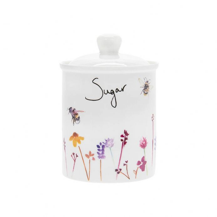 Busy Bees Fine China Sugar Canister